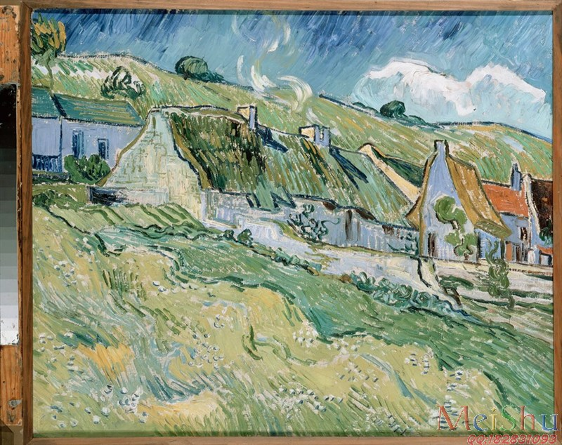 ║╬╢Рс║╪╤║©YH50915574с║оСеисм╩╜╥Г╬╟м╪ф╛Gogh, Vincent van_1890_Cottages-36M-4000X3171