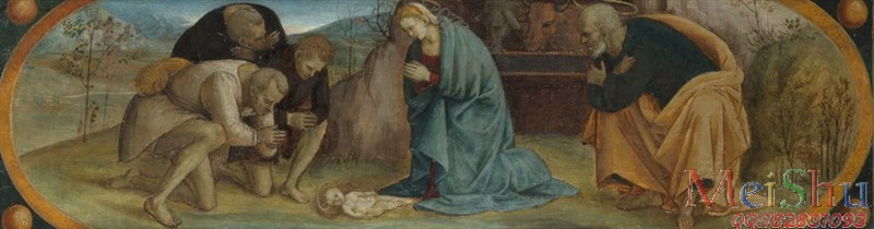 ��ӡˢ����YH51136279�ͻ��ڽ̳�������ͼƬThe Adoration of the Shepherds�����˵���� 1490-1510, Luca Signorelli-44M-7689X2