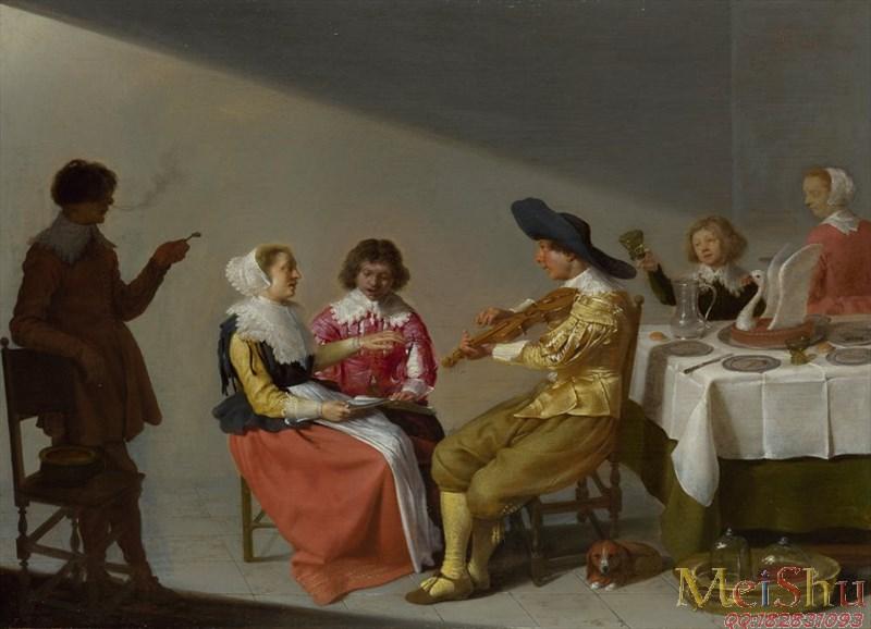 【印刷级】YH4130426油画古典宫廷人物图片-70M-5843X4226