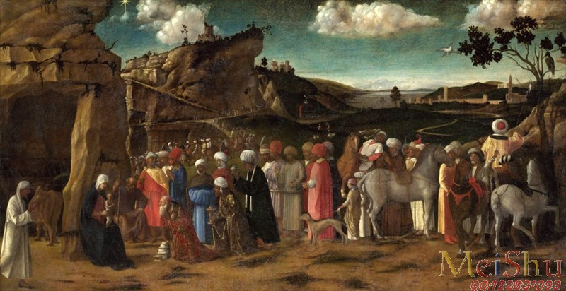 ��ӡˢ����YH4130161�ͻ�����ͼƬ����Ⱥ��The Adoration of the Kings �������1475-80, Attributed to the Workshop of Giovan
