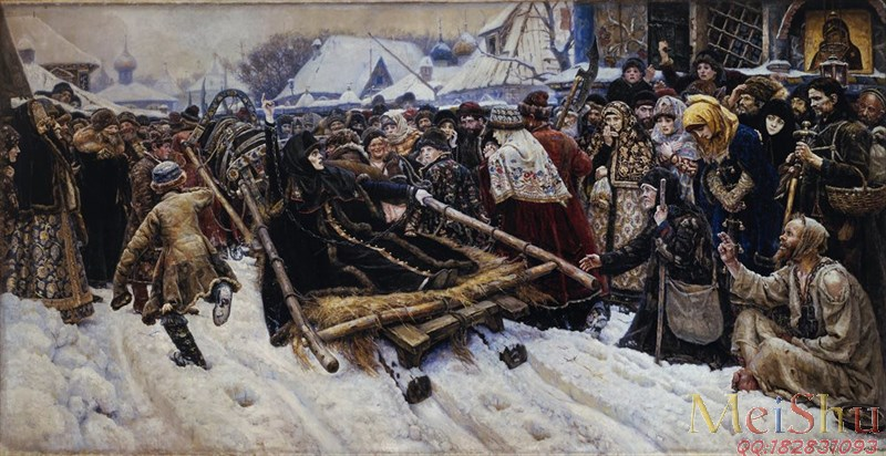 ����ӡ����YH4130172�ͻ�����ͼƬ����Ⱥ��Vasily_Surikov_-_�������ߧ�_������٧�ӧ�_Art_Project-23M-4000X2059