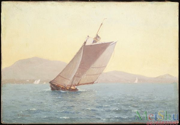 【欣赏级】YH51010068风景海景油画图片大海-18M-3072X2144