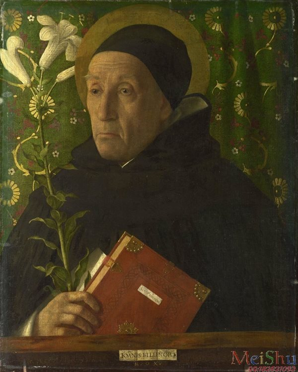 ��ӡˢ����YH4131791�ͻ�����ŵ�ͼƬPortrait of Fra Teodoro of Urbino as Saint Dominic 1515, Giovanni Bellini-81M-