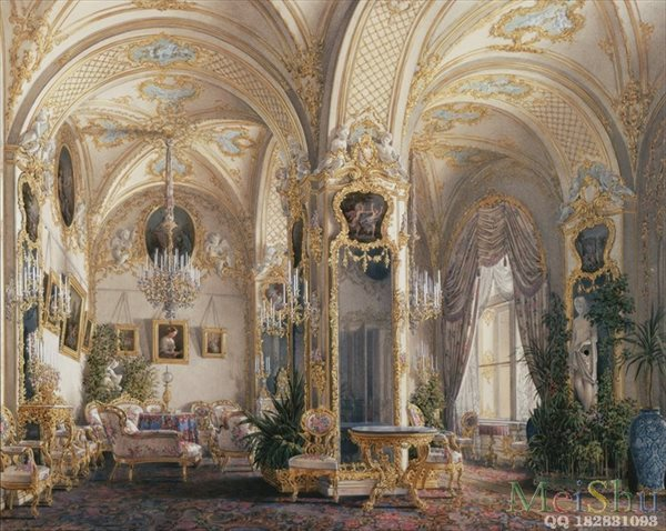 ��ӡˢ����YH50915206�ͻ����ڽ����Ҿ�ͼƬHau, Edward Petrovich - Interiors of the Winter Palace. The Drawing Room i