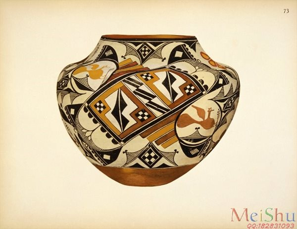 ��ӡˢ����ZSH42385165�������������մ�װ�λ�ͼƬPueblo Indian Pottery 50 reproduct-34M-3972X3056