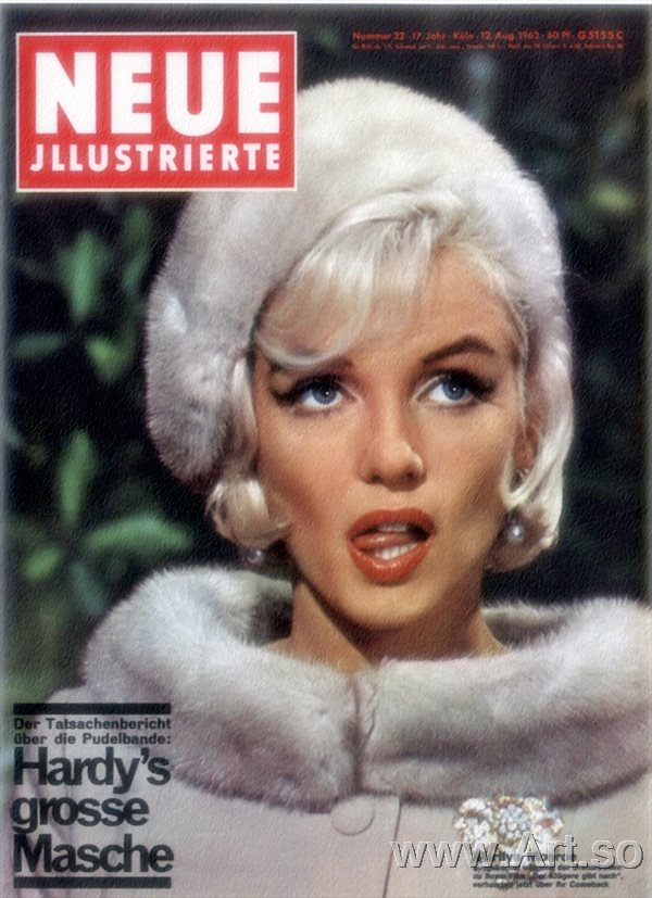 ����ӡ����ZSH9095513����������¶������Ƭ����ɨ���ͼƬMarilyn Monro poster photos HD scanning images����װ�λ�����ͼƬ-12M-1752X24