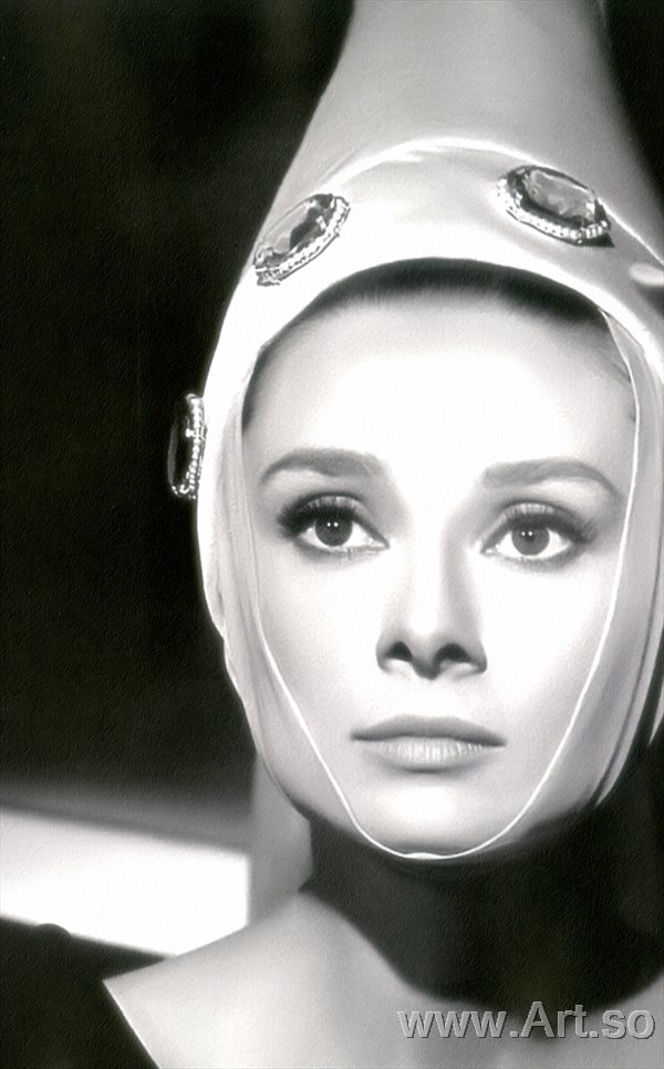 ����������ZSH9095089�������ձ�������Ƭ����ɨ���Audrey Hepburn poster photos HD scan picture����װ�λ�����ͼƬ-33M-2688X4328