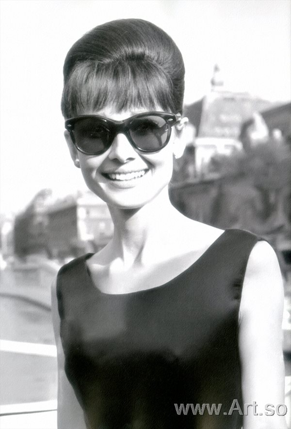 ����������ZSH9095094�������ձ�������Ƭ����ɨ���Audrey Hepburn poster photos HD scan picture����װ�λ�����ͼƬ-36M-2944X4328