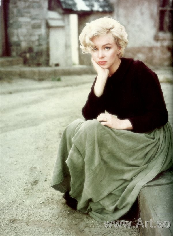 ����������ZSH9095159����������¶������Ƭ����ɨ���ͼƬMarilyn Monro poster photos HD scanning images����װ�λ�����ͼƬ-38M-3160X42