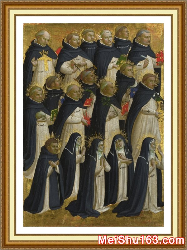 ����ӡ����YH1162754-�ڽ̳���-The Dominican Blessed��������ɸ� about Fra Angelicoŷ����������������Դӡˢ�������-35M-2927X4225