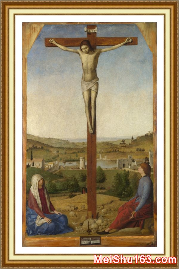 ����ӡ����YH1163929-�ڽ�Ү��-Christ Crucified������ʮ�ּ� Antonello da Messinaŷ����������������Դӡˢ�������-30M-2538X4224