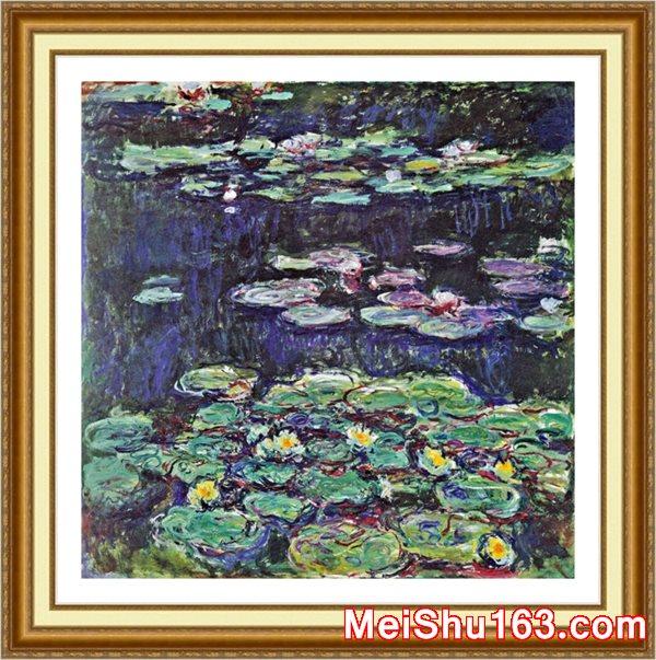 ║╬пюим╪╤║©YH1152416-╥Г╬╟ож╢З-Claude Monet Water Lilies е╥цю╦ъгЕнЗеГд╚╢Рс║к╒м╪╟╦╣Гвс╦Ем╪ф╛-10M-1892X1904