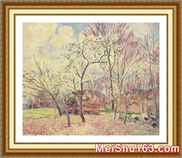 �����ͼ���YH1161835-ӡ���ɷ羰-Premier jour de printemps a Moretŷ���ִ������滭����ͼƬ��Դ�����ļ�����-9M-1997X1648