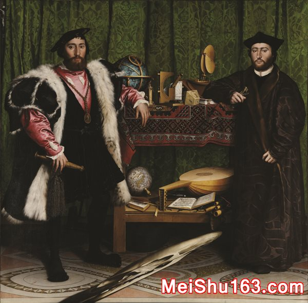 ����������YH1188191�ͻ���˹����������Ĵ�ʹ��Hans Holbein the Younger The Ambassadors���ظ�������������������������ļ�����-1441M-2261