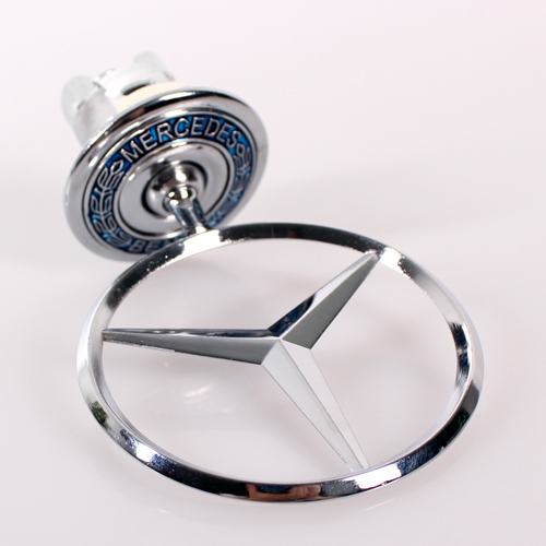 Mercedes benz bonnet hood trunk badge w140 star logo for Mercedes benz bonnet badge