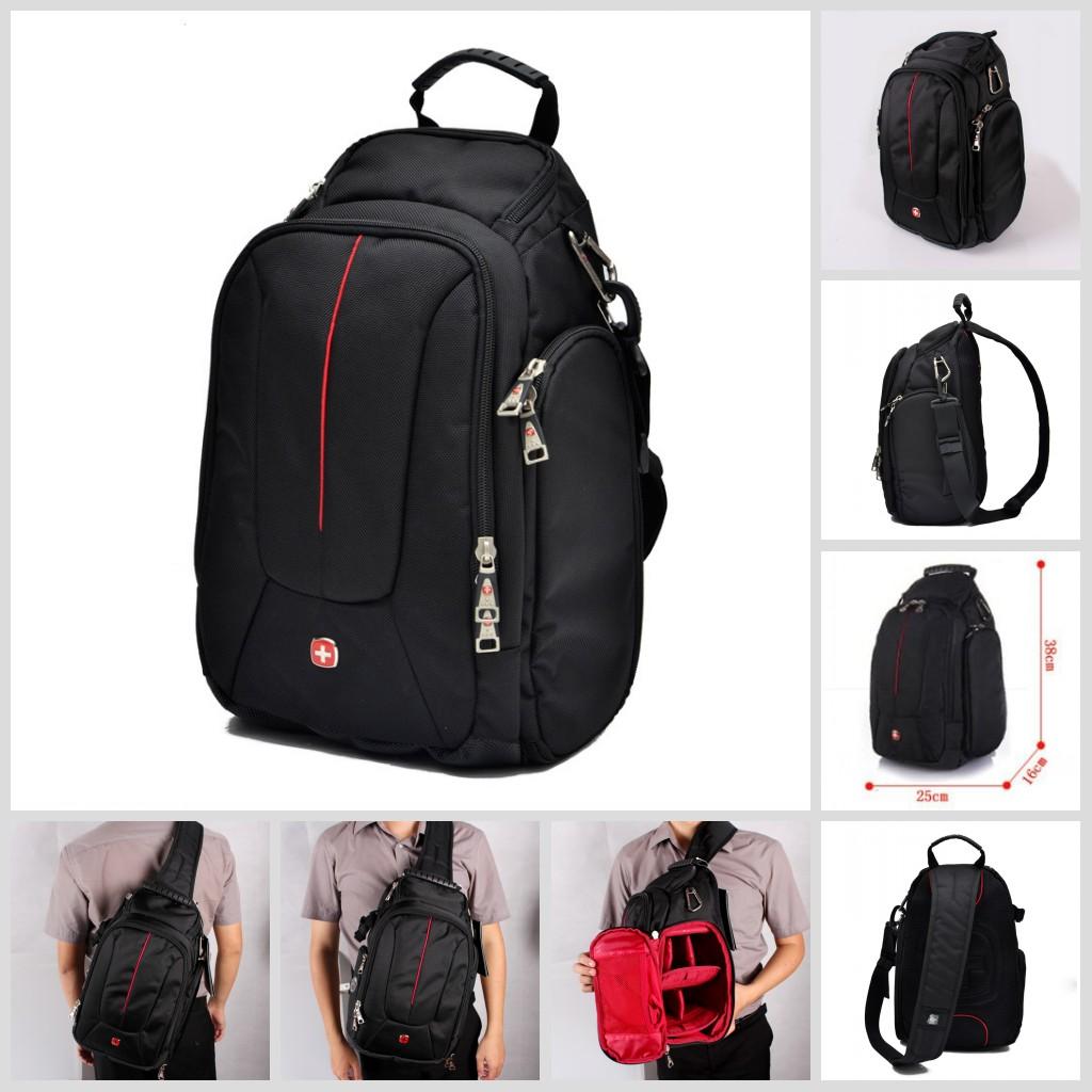 Travel Camera Case Bag Backpack Shoulder SWISS GEAR Sling SLR ...