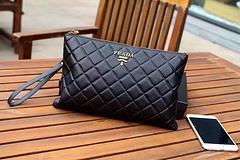 Prada Men's Bag Wallet Clutch 6753-5