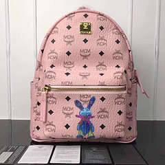 MCM Men's and Women's Bags Nailless Rabbits Backpacks