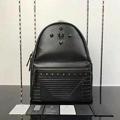 MCM Men's Bag Backpack 4 Nail Embossed Print