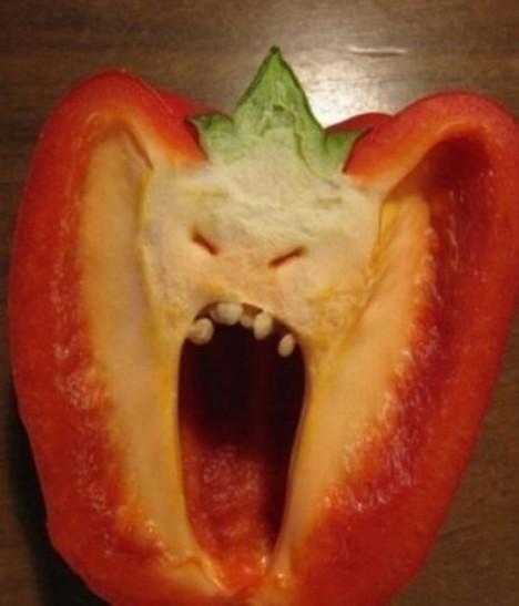 有人居然被西红柿吓休克了