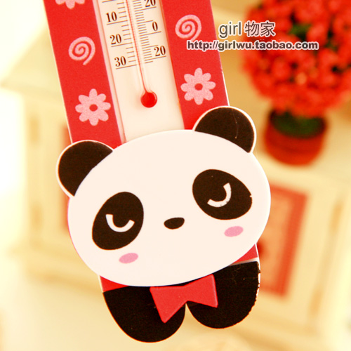 小熊猫 卡通造型 室温计 温度计 来自 淘宝网高清图片