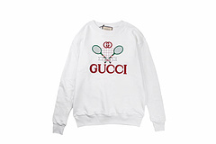 Gucci 19fw 早秋复古网球拍圆领卫衣
