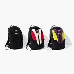 Supreme ?TNF Backpack新款联名 拼接双肩包