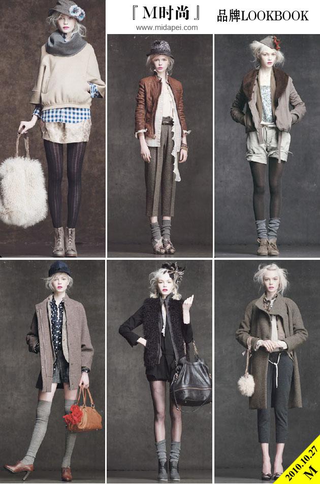 『M时尚』品牌Lookbook: J.Crew2010秋冬