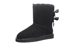 UGG Customizable Bailey Bow short 1019034 Bow Female Boots 35-40 Gray beeng album