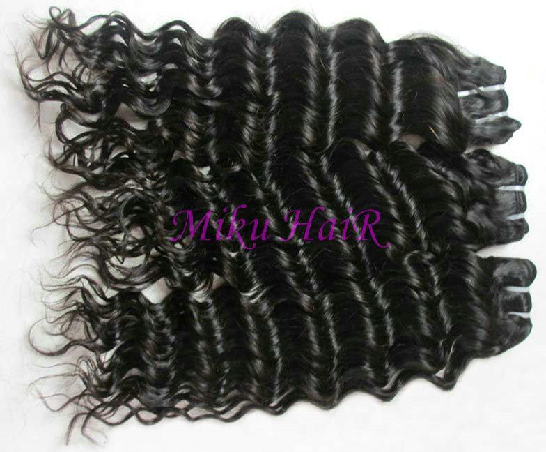 24& 34 26& 34 28& 34 3pks virgin brazilian remy hair weft deep wave
