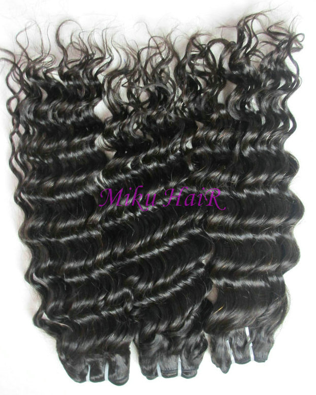 22& 34 24& 34 26& 34 mix size virgin brazilian hair weave deep wave