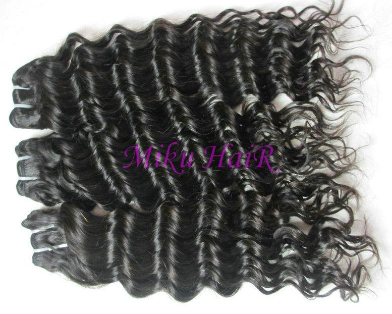 20& 34 22& 34 24& 34 3pks virgin brazilian remy hair weft deep wave