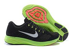 Nike Flyknit Lunar3 登月3代猪八革 登月3代飞线猪八革 8009款 黑荧光绿 40-45#