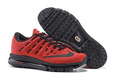 qq红包秒抢软件 Nike Air Max 2016 网面 2016max2016 全掌气垫鞋 40#--46#红黑