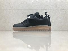 市面最高版本!亚博集团空军一号Nike Air Force 1 磁力机能夜光 AV6247-002 黑棕 头层