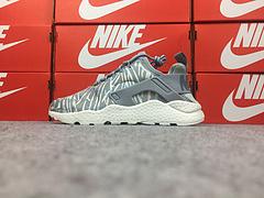 公司货 亚博集团华莱士三代亚博集团华莱士3代 过虎扑 Nike Air Huarache Run Ultra 银灰刺绣 859511-003