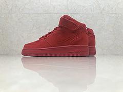 市面最高版本!亚博集团空军一号Nike Air Force 1 圣诞限定 315123-609 红椰子