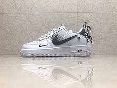 市面最高版本!亚博集团空军一号Nike Air Force 1 黑白解构简版OW AJ7747-100 头层 内置气垫