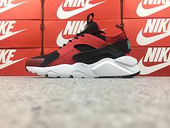 裁片级 ag环亚集团官网|官网华莱士四代华莱士4代 国内专柜款 真标内置气垫 Nike Air Huarache Run Ultra 黑红 819685-600