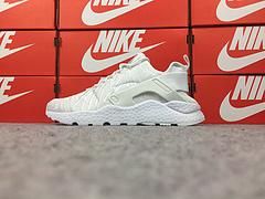 公司货 亚博集团华莱士三代亚博集团华莱士3代 过虎扑 Nike Air Huarache Run Ultra 全白刺绣 859511-100(新三代)