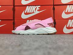 公司级 亚博集团华莱士凉鞋 拖鞋 Nike Air Huarache Ultra  粉红 885118-600  高弹MD 弹性绑带  我看要爆!!