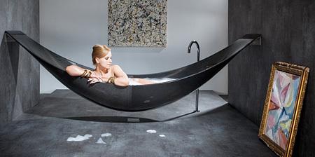创意的吊床浴缸