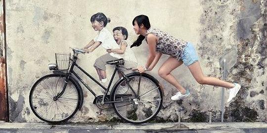 有意思的街头创意