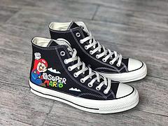 超级玛丽联名SuperMarioBrosxConverseChuck70s纪念版硫化板鞋马里奥尺码353636537375383939540414