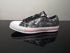 新款出货男女鞋真标硫化工艺原厂铝楦开发版型Converse匡威xSadBoysOneStar联名水晶底涂鸦板鞋165743C尺码353636537375383