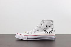 2020春季新款匡威Converse字母笑脸涂鸦AllStar经典款高帮帆布鞋情侣休闲板鞋167066C167067C167068C167069C尺码353636537375