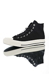 新品实拍篇顶级原厂硫化工艺市面最为正确原楦版型高弹PU增高鞋垫20安盎司厚实帆布英国设计师品牌联名MargaretHowellxConverseAllStarHigh10