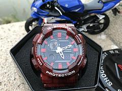 卡西欧casio G-SHOCK GAX-100 正品级抬手灯系列 电子表男士运动手表