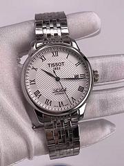 原单天梭 tissot 钢壳 皮带新款 316精钢 力洛克 T041 机械机芯 带日历机械表