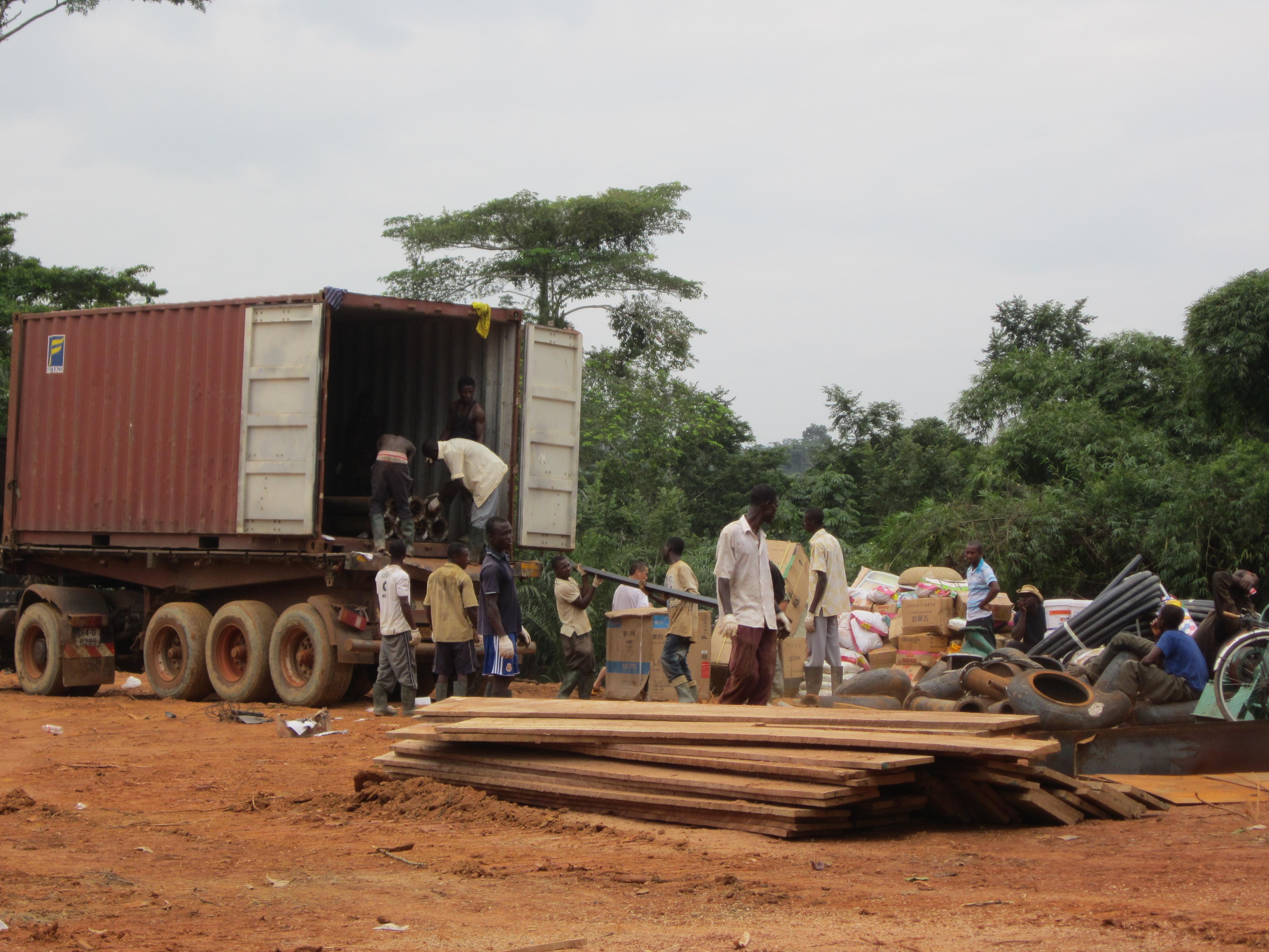 加纳采金业有感1